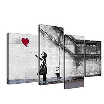 There is always Love banksy HD printed Canvas Painting Dropshipping