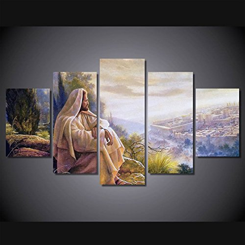 canvas wall art print Jesus default painting wall art Painting on canvas Dropshipping