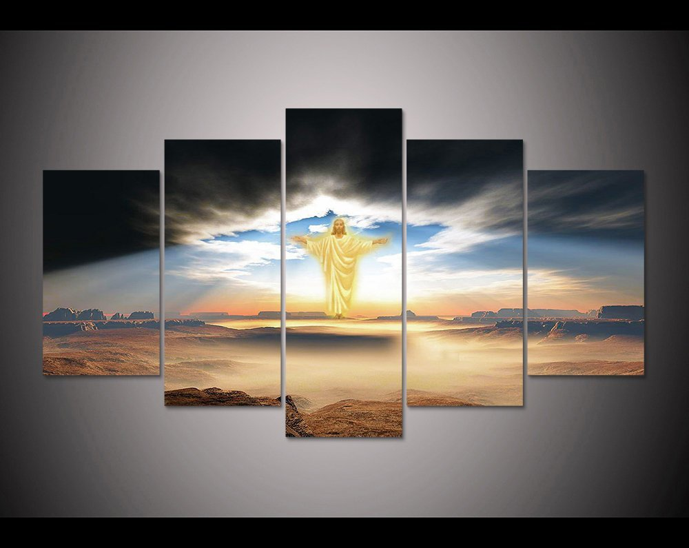 canvas wall art print the Lord Jesus painting wall art picture home Decor Dropshipping