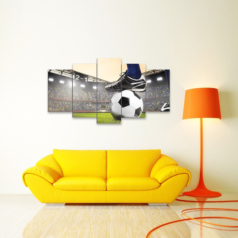 Soccer Match Painting Football Course Wall Art Canvas Painting Drop shipping