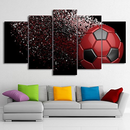 Soccer Abstract Canvas Printed Wall Art Poster Wall Decor Drop shipping
