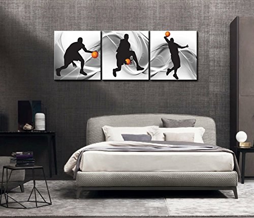 Basketball Sports Themed Canvas Wall Art Basketball Boys painting Drop shipping