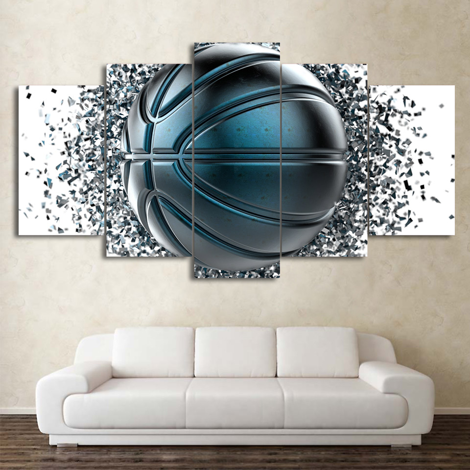 Canvas Art Basketball Painting Wall Pictures HD Printed Wall Decor Drop shipping
