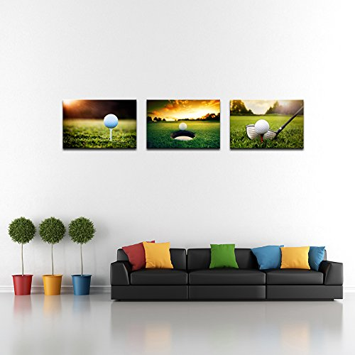 Golf Canvas Wall Art Modern Leisure Sports Canvas Art Wall Decor Drop Shipping