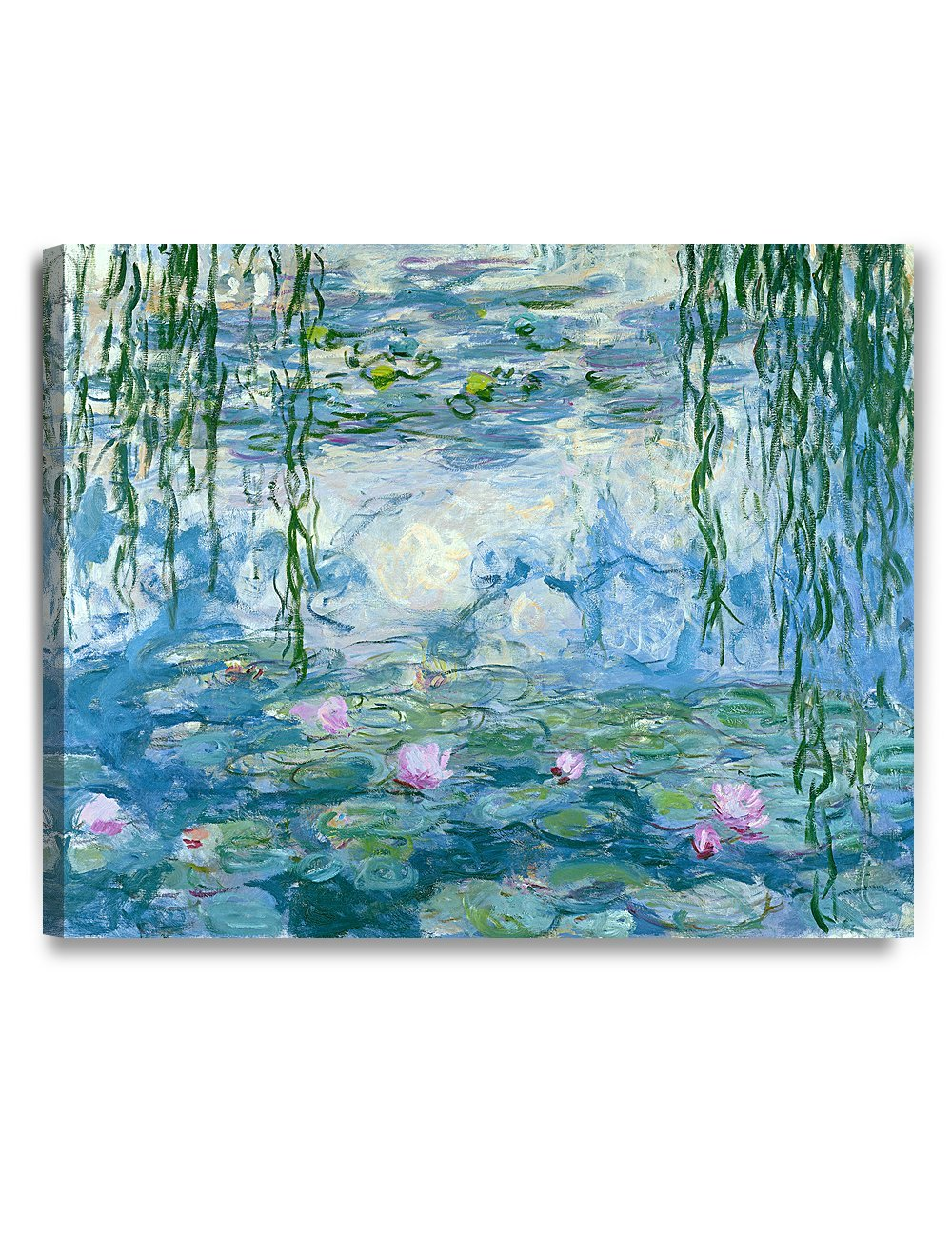 Water Lilies Claude Monet Art Reproduction Canvas Prints Wall Art for Home Decor Drop shipping