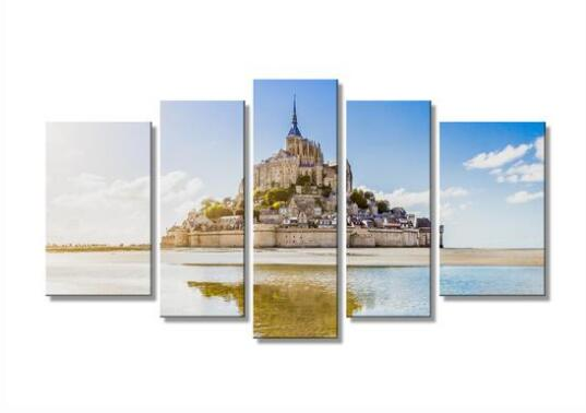Mont Saint Michel Canvas HD Print Canvas  wall art drop shipping