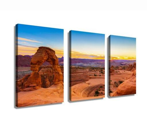 Utah's Arches National Park Canvas  printing wall art drop shipping