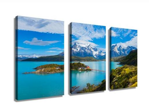 Patagonia's famous Torres Del Paine National Park Landscape wall art drop shipping