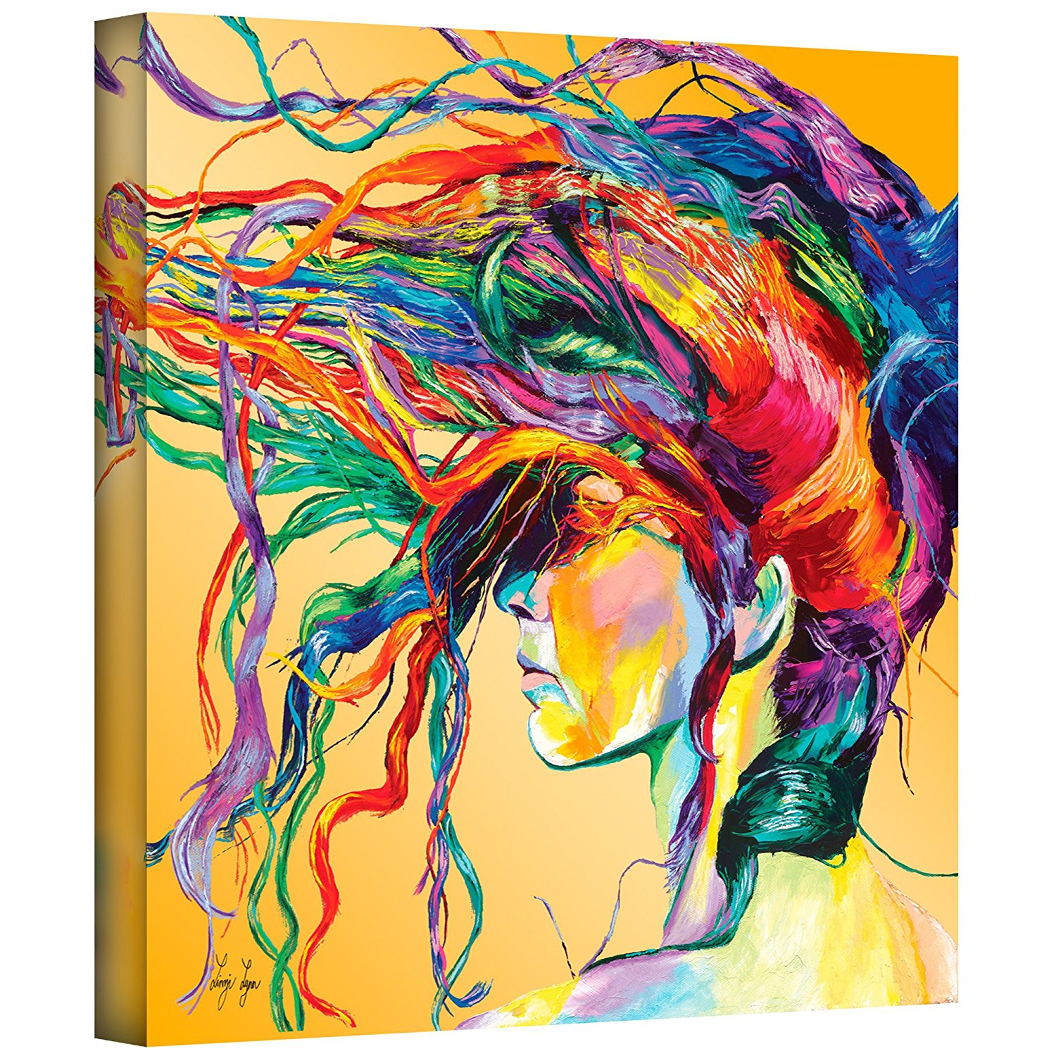 Windswept Gallery-Wrapped Canvas Artwork Canvas Printings wall art drop shipping