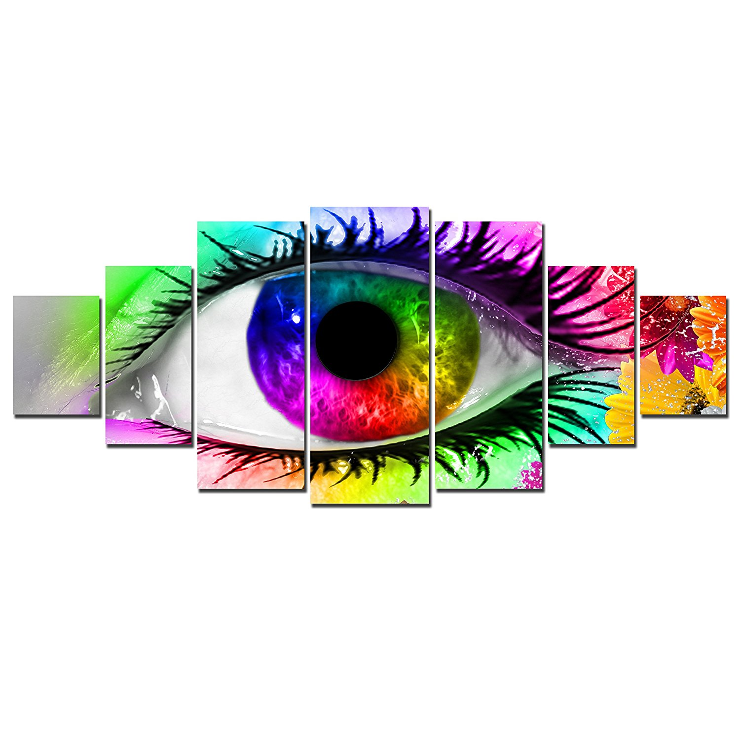 Canvas Wall Art Colorful Eye Modern Wall decor painting Drop shipping
