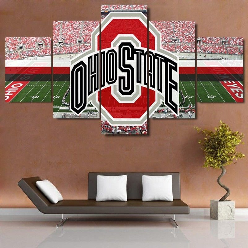 Ohio State Stadium Canvas Print Wall Art Large framed drop shipping