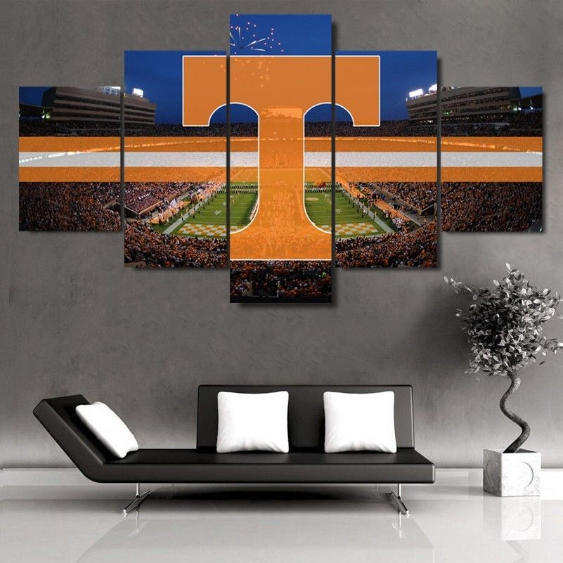 Tennessee Volunteers Stadium Canvas  Print Wall Art Home Drop shipping
