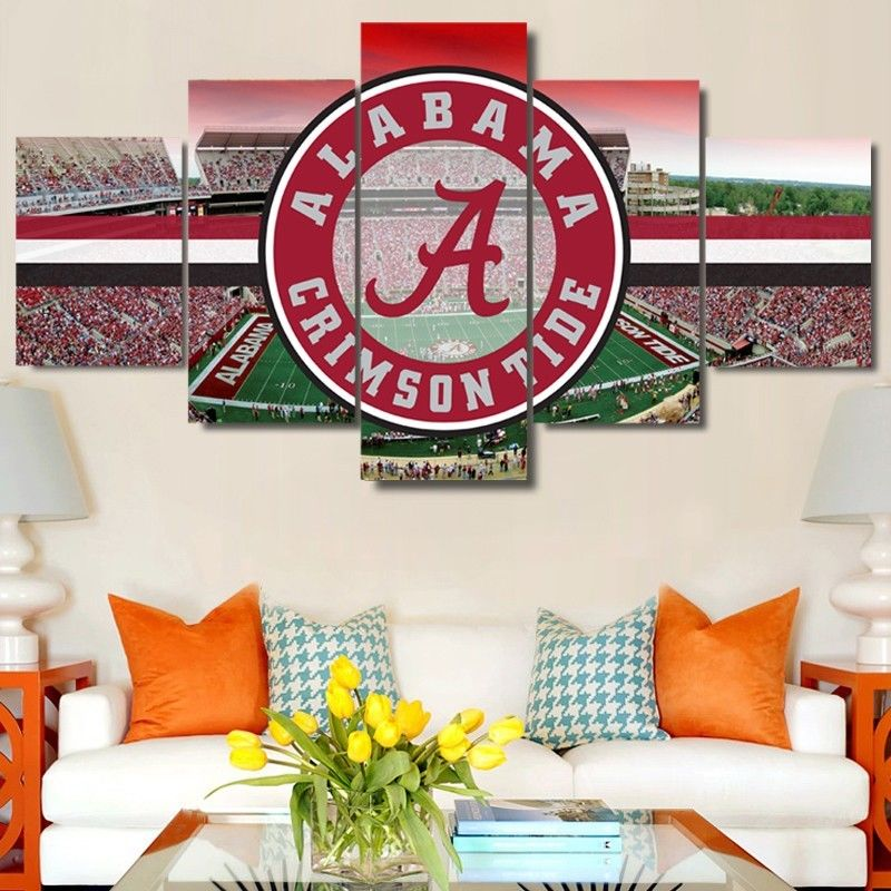 Alabama Crimson Tide Stadium Canvas wall art decor drop shipping