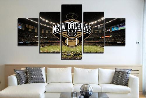 New Orleans Saints Stadium Canvas Print Wall Art Home Decor Drop shipping
