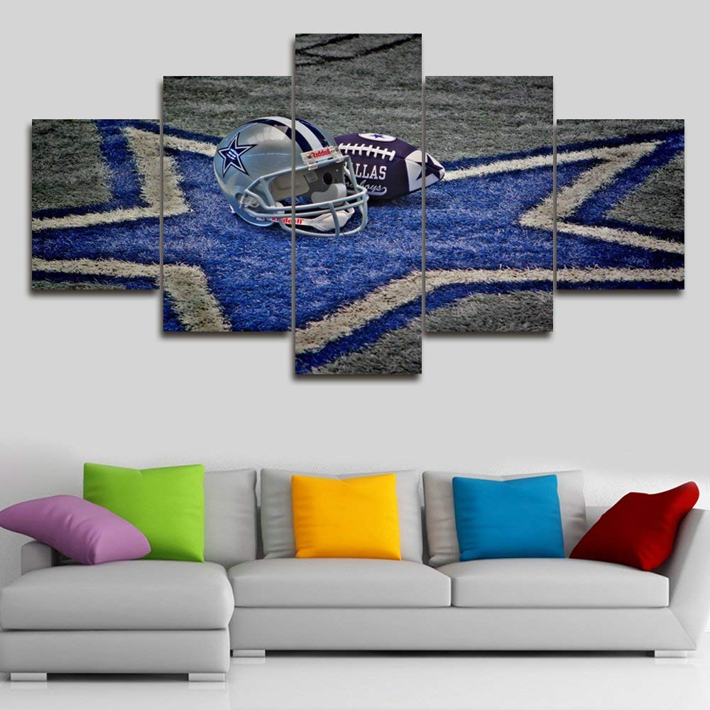 Canvas Wall Art NFL Sports Dallas Cowboys Paintings Drop shipping
